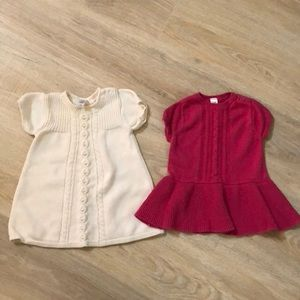 Other - TWO Sweater dresses bundle baby